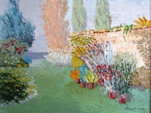 Oliver McCarron (1920-2010) - Garden Wellington Road (400-700)