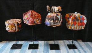 Beadwork crowns of the Yoruba, Nigeria at Joss Graham