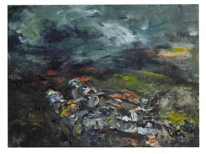 Sleep Sound by Jack B. Yeats from the collection of David Bowie.