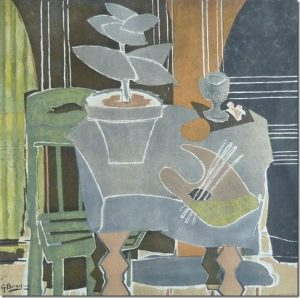 The Whitley Gallery will feature this Georges Braque - Nature Morte a la Palette - at the 51st annual Irish Antique Dealers Fair