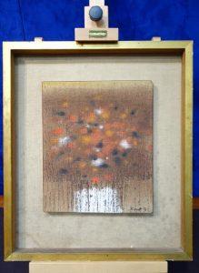 Patrick Scott - Bog Flowers sold for 2,300