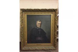 """P. Mac Egan, 20th Century Irish School """"Archbishop Th. William Croke,"""""""