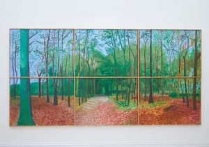 David Hockney Woldgate Woods, 24, 25 and 26 October, 2006