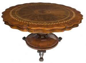 A Killarney centre table (8,500-10,500)