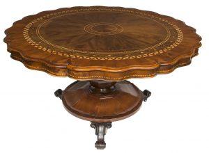 A Killarney centre table (8,500-10,500)