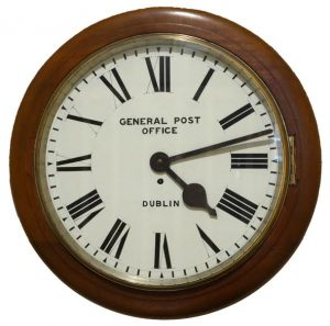 The 1916 GPO Dublin wall clock (2,000-3,000)