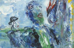 Jack B. Yeats (1871-1957) - Singing Under the Canopy of Heaven (90,000-120,000)