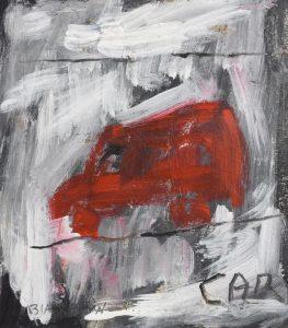 Basil Blackshaw HRHA RUA (1932-2016) Car (1,000-1,500)