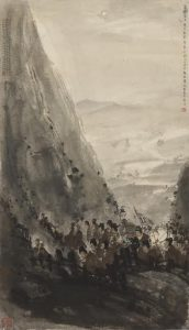 Fu Baoshi, Warriors on the Night March Sold for: US$3,543,590