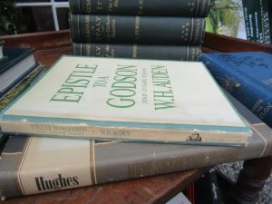 WH Auden Epistle to a Godson and Ted Hughes Selected Works Both First Editions (60-90)