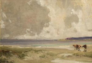 James Humbert Craig RHA RUA (1878-1944) On The Co. Down Coast (2,500-3,500)