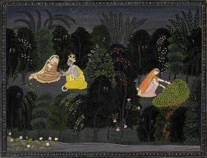 Radha consoled by Krishna made £353,000.