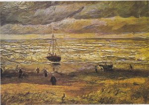 Vincent van Gogh - View of the Sea at Scheveningen.