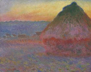 Claude Monet - Meule (Grainstack) Courtesy Christie's Images Ltd., 2016