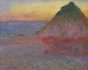 Claude Monet - Meule (Grainstack) Courtesy Christie's Images Ltd., 2016