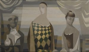 Family Group by Neville Johnson (1911-1999) (14,000-18,000)