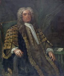 A three quarter length portrait of Sir Marmaduke Coghill (1673-1739) sitting in his robes (3,000-4,000)