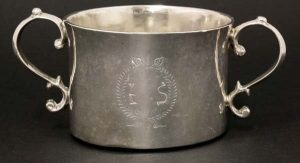 The Porringer dates to the time of Oliver Cromwell.