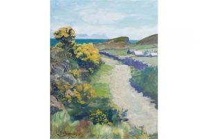 Spring in Co. Cork by Edith Somerville (1858-1949)