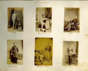 A Co. Cork album of Irish and other military figures, one dated 1864