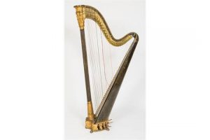 An Errard double action harp (1,500-2,500)