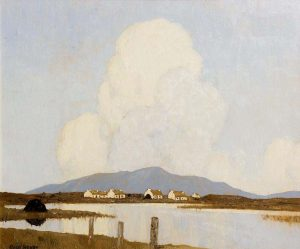 Paul Henry - Evening in Achill sold for 135,000.